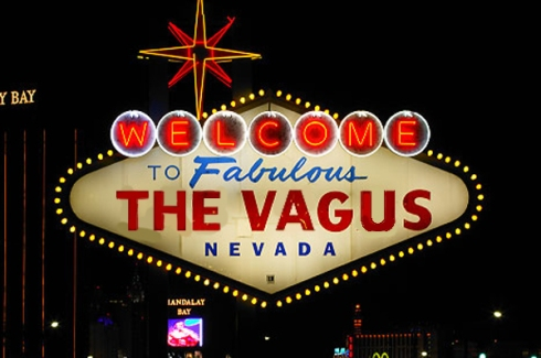 Famous welcome sign, Las Vegas, Nevada.